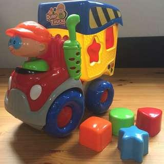 Toy Truck with blocks