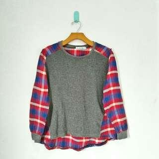 Grey Flanel Sweater