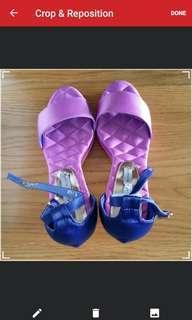 BN 36/37 Ombre Transparent Heel Sandal