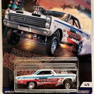 '65 Mercury Comet Cyclone - from the 2018 Hotwheels Car Culture Drag Strip Demons Series - FVN71 - D43