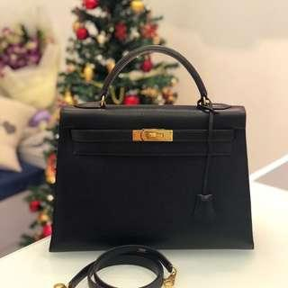 d6b10bce5587 A Rare Item at a Superb Price! Hermes Vintage Kelly 32