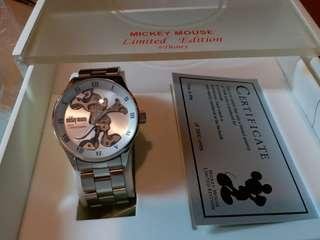 Mickey Mouse  watch - Limited edition  ,hand wind, brand new, full set, never worn.