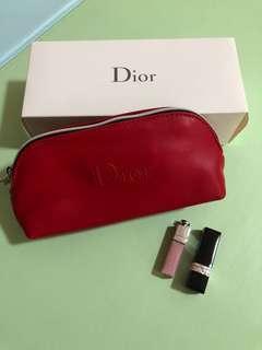 Dior set (迷你999唇膏+潤唇膏)