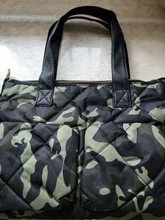 Army style design handbag cum slingbag