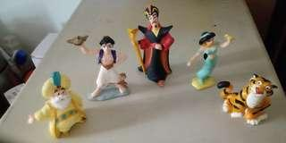 $10/pc Disney Aladdin figure 5 pcs/set
