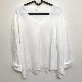 🚚 白 針織衣