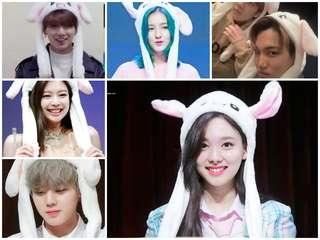 READY STOCK KPOP CUTE MOVING BUNNY EAR