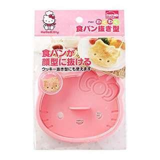 日本制 Made in Japan Hello Kitty Cookie Sandwich Toast Bread Cutter Mold