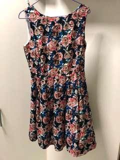 Sweet floral dress