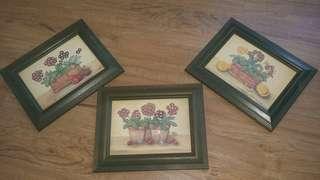 3 Picture Frame - Gambar Lukisan