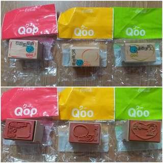 Coca Cola Qoo 印章 (三款一併出售)