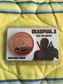 Deadpool mint Coin