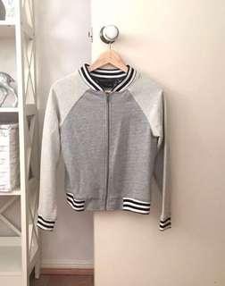 Minkpink Grey Varsity Jacket