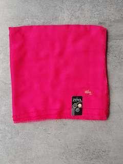 Segi4 ZOYA warna shocking pink