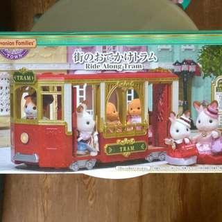 Sylvanian Families 森林家族 Ride Along Tram TV-01