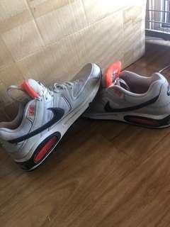 Nike AirMax white & orange