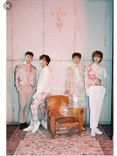 [WTS] NU'EST W WAKE,N Group Poster