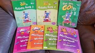 Get Set, Go! Activity Book & Mathematics Workbook 7本
