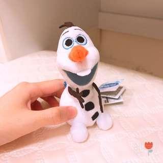 🚚 全新❤️冰雪奇緣 雪寶 造型吊飾 鑰匙圈 聖誕禮物 療癒