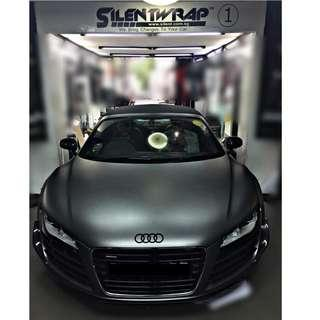 CAR WRAPPING FOR AUDI
