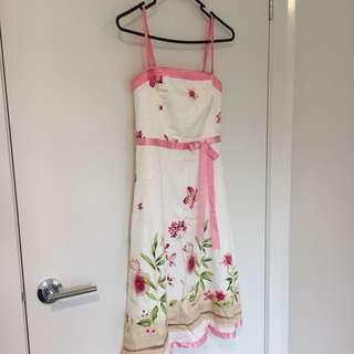 Floral Printed Cocktail Dress
