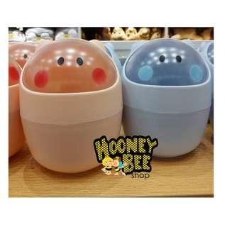 Miniso - Tong Sampah Meja Cute Table Storage Bucket Desktop