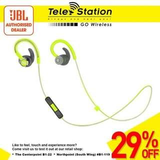 PROMOTION JBL Reflect Contour 2 Wireless Sport In-Ear Headphones
