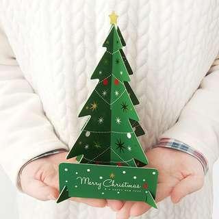 聖誕立體咭