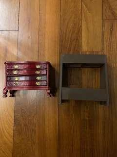 1/6 scale Drawer console and rack