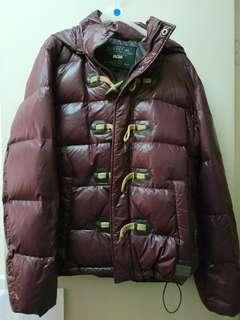 Guess USA duck down jacket,羽絨外套, 99%new