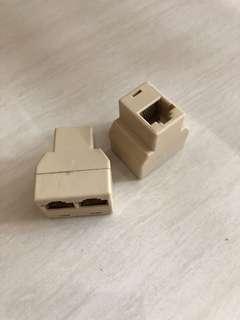 RJ45 splitter for internet