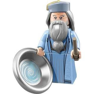 Lego Dumbledore from Harry Potter Minifigure series