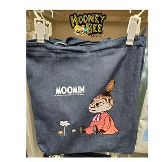 Original Miniso - Tote Bag Moomin Denim Totebag Shopping Bag