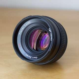 Carl Zeiss N 50mm f1.4 Canon EOS EF-Mount