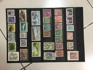 Canada old stamps