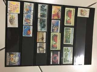 Australia old stamps