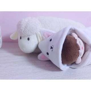 15cm doll's blanket