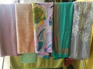5pcs scarf / pashmina