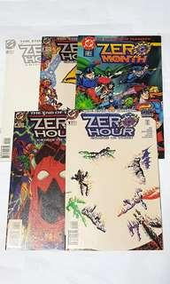ZERO HOUR CRISIS IN TIME SET DC COMICS