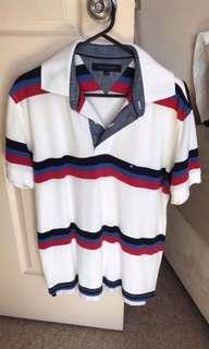 Tommy Hilfiger Men's Striped Polo