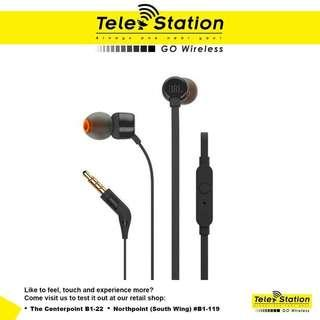 Promotion JBL T110 In-Ear Headphones