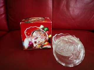 Japen Soga Glass Conister with Cover