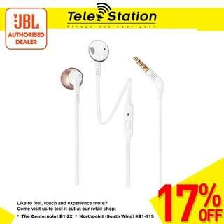 Promotion JBL T205 Earbud Headphones