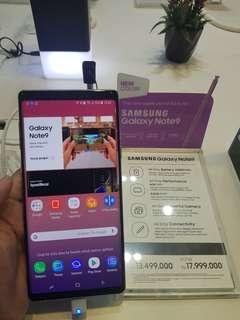 Samsung galaxy Note 9 Cicilan tanpa CC bunga 0%