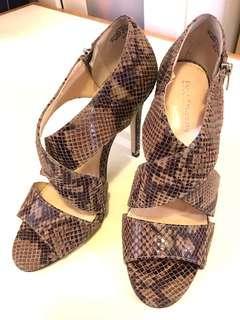 🚚 NINE WEST副牌(Enzo Angiolini) 蛇紋高跟鞋