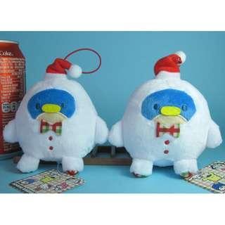 【X291】企鵝 聖誕系列 公仔吊飾 (約高 7cm)