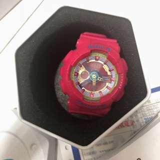 🚚 casio 卡西歐 gshock babyg 桃粉色手錶