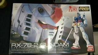 Real Grade Gundam kits