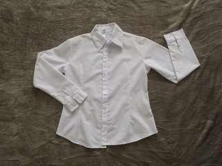 [NEW] White Longsleeves button down