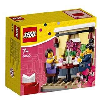 Leeogel Lego 40120 Valentine's Day Dinner Seasonal Set - New In Sealed Box